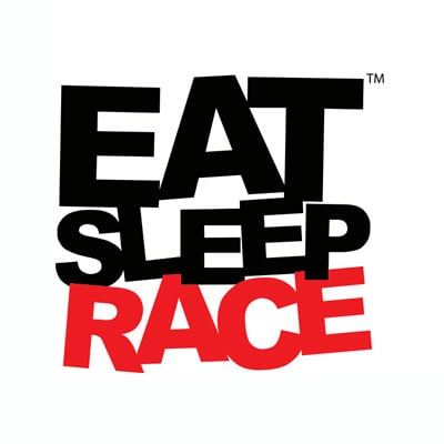 Eat Sleep Race Logo